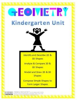 Kindergarten Geometry Unit/Shape Unit