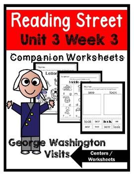 Kindergarten. George Washington Visits. Unit 3 Week 3 Read