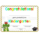 End of the Year, Kindergarten Graduation Certificates - Dr