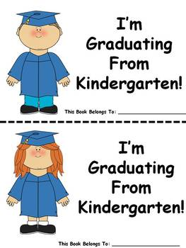 Kindergarten Graduation Easy Reader