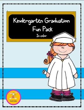 Kindergarten Graduation- Fun Pack in Color-(Matching Clip