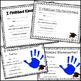 Kindergarten Graduation Handprint Certificate