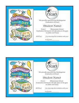 Kindergarten Graduation Invitation