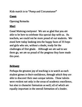 original 291279 2 - Kindergarten Graduation Speech