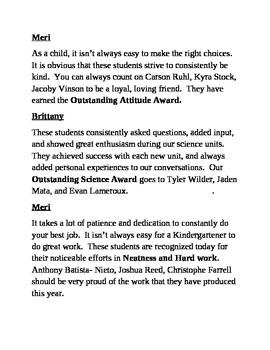 kindergarten graduation script by brittany fangmeier. Black Bedroom Furniture Sets. Home Design Ideas