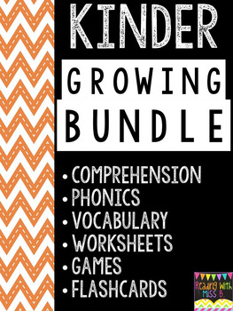 Kindergarten Growing Bundle