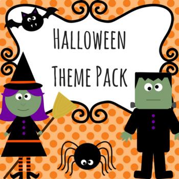 Kindergarten Halloween Pack