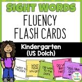 52 Kindergarten Sight Word (Dolch) Flash Cards