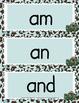 Sight Words / High Frequency Words for Kindergarten {Safar