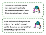 Kindergarten I Can Statements for Ohio's Revised Social St