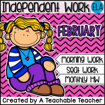 Kindergarten Independent Work - February