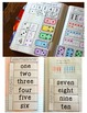 Kindergarten Interactive Math Journal {K.CC.4}