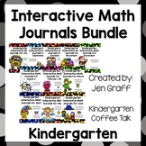 Kindergarten Interactive Math Journals: The Whole Year