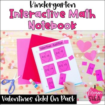 Kindergarten Interactive Math Notebook: Add On Pack Valent
