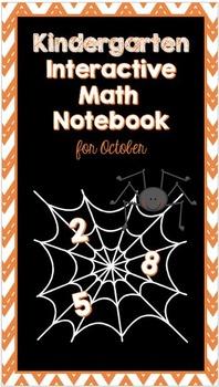 Kindergarten Interactive Math Notebook {October}