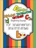 Kindergarten Interactive Notebook: Alphabet Recognition an