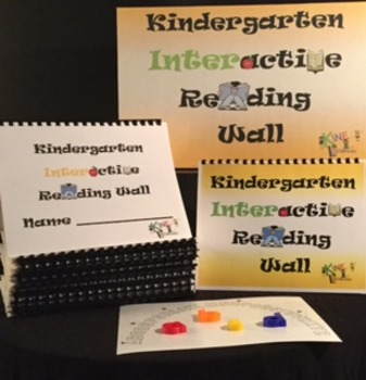 Kindergarten Interactive Reading Wall