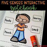 Kindergarten Interactive Science Notebook {Theme: Five Senses}