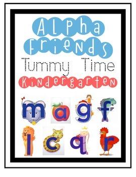 Kindergarten Journey's Alpha friends-Tummy Time