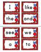 Kindergarten Journeys Sight Words Write the Room Valentine Center