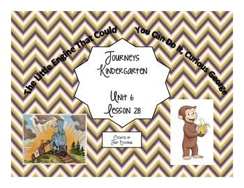 Kindergarten Journeys Unit 6- Lesson 28 Skill Support