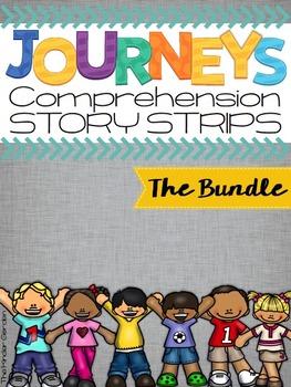 Kindergarten Journeys Units 1-6 Reading Comprehension Stor