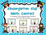 Kindergarten Math Centers (can be used with any theme) - C