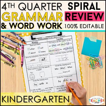 Kindergarten Language Homework Kindergarten Morning Work 1