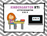 Kindergarten Letter Recognition-B vs. D
