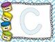 Kindergarten Letters- Play-doh Mats