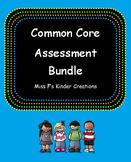 Kindergarten Assessment Bundle (Editable)