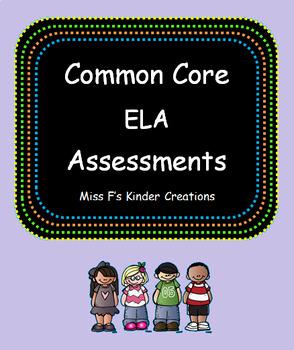 Kindergarten Literacy Assessments