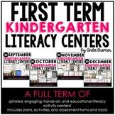 Kindergarten Literacy Centers {September-December}