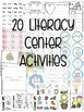 Kindergarten Literacy Centers Unit 9 {MAY}