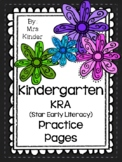 Kindergarten MKAS Star Early Literacy Practice Packet