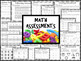 Kindergarten GROWING Assessments Binder - MATH ELA WRITING