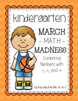 Kindergarten March -MATH- Madness