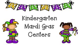 Kindergarten Mardi Gras Centers