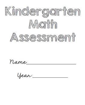 Kindergarten Math Assessment Packet