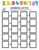 Kindergarten Math- Before & After Numbers, Numeral ID, Cou