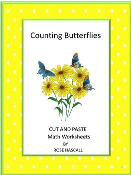 Counting Butterflies Math Center Activity