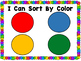 Kindergarten Math Centers (Color, Shape and Size Sorting M