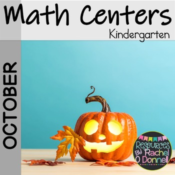 Kindergarten Math Centers October
