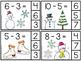 Kindergarten Math Centers - Subtracting Numbers 1-20