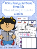 Kindergarten Math ~ Classifying Objects
