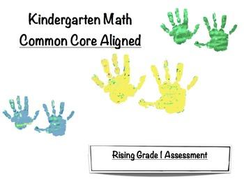 Kindergarten Math Common Core Aligned