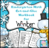 Kindergarten Cut-and-Glue Math for Winter