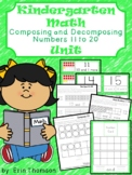 Kindergarten Math ~ Composing and Decomposing Numbers 11-20