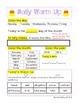 Kindergarten Math Daily Warm Ups for October