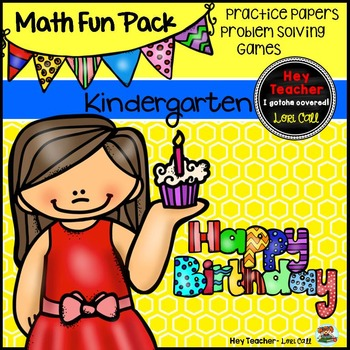 Kindergarten Math Games, Printables and Problem Solving